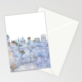 Memphis Skyline Tennessee Stationery Cards