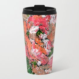 Phantom - Floral - Piano notes Travel Mug