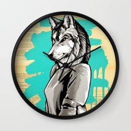 Teen Wolf Girl Wall Clock