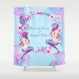Starfish Shower Curtains | Society6