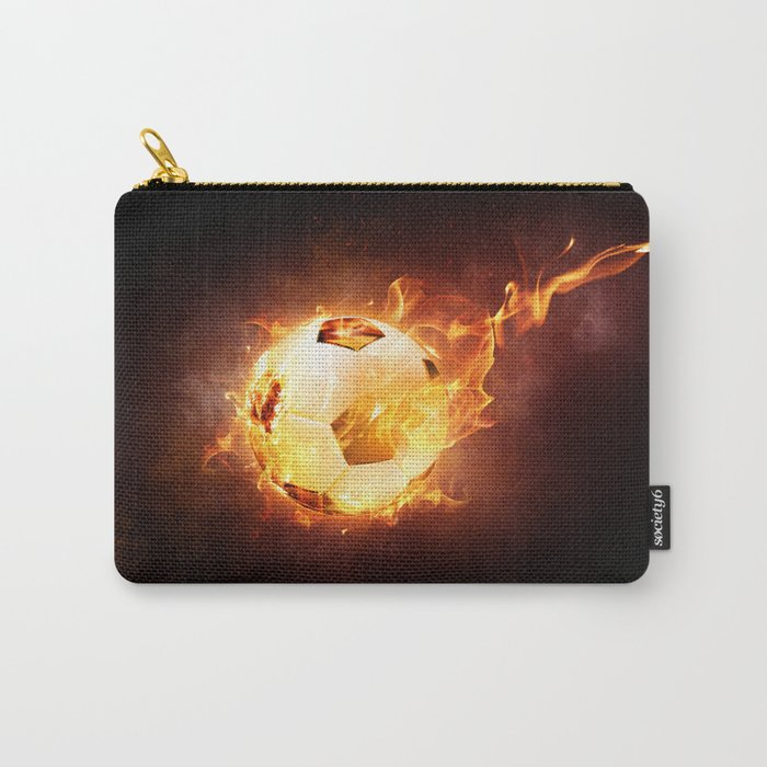 Fire Football Carry-All Pouch