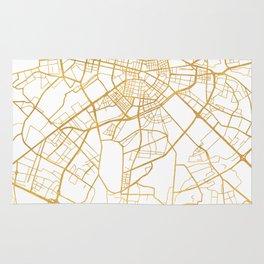 SOFIA BULGARIA CITY STREET MAP ART Rug
