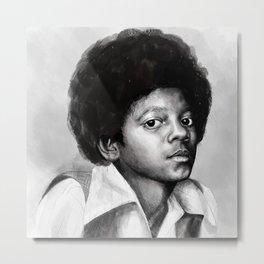 Young Michael Metal Print