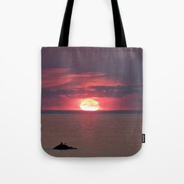Fire and Water Tote Bag
