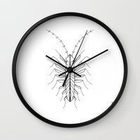 bugs Wall Clocks featuring BUGS by Fill