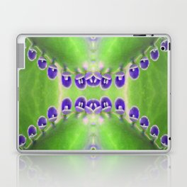 Green and Purple Abstract Laptop & iPad Skin