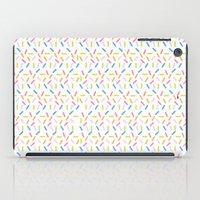 sprinkles iPad Cases featuring Sprinkles by Vera Mota