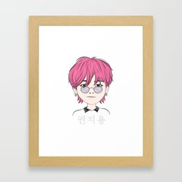 G-Dragon (GD) Chibi Art Framed Art Print