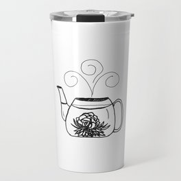 Blossoming Flower Tea Travel Mug