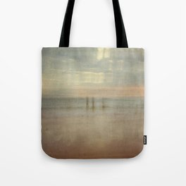 Three surfers abstract Tote Bag