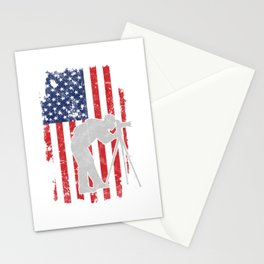 Photographer Flag USA Photography Photos Pictures Camera Cameraman Gift Stationery Cards