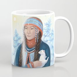 Lady with an Ermine Coffee Mug