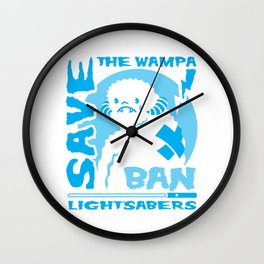 Save the Wampa Wall Clock
