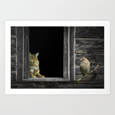 The Eyes are on the Sparrow Art Print