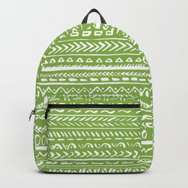 Tribal Greenery Backpack