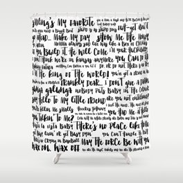 movie quotes Shower Curtain