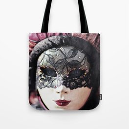 Italy Venice Mask 4 woman Tote Bag