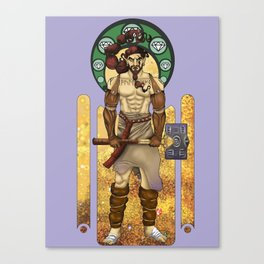 Aule Art Nouveau Canvas Print