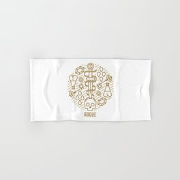 Rogue Emblem Hand & Bath Towel