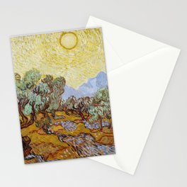 Vincent Van Gogh Olive Trees Stationery Cards