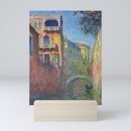 Rio della Salute by Claude Monet Mini Art Print