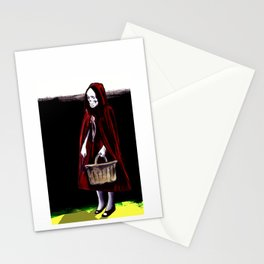 Little Blood Red Riding Hood Stationery Cards