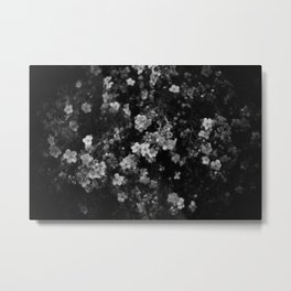 The Flowers Metal Print