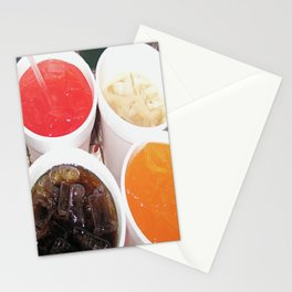 Soda Fountain Stationery Cards