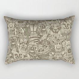 gargoyles vintage Rectangular Pillow