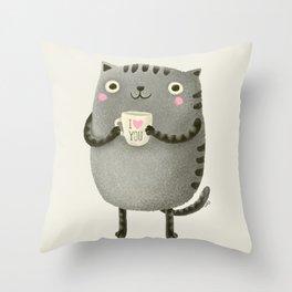 I♥you Throw Pillow