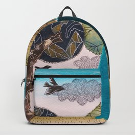 Take a rest in spring Backpack