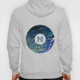 Vinyl abstract Hoody