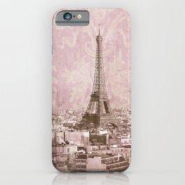 romantic Paris 2 iPhone Case