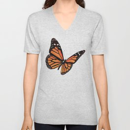 Geometric Butterfly Unisex V-Neck