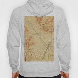 Vintage Map of The Las Vegas Valley NV (1907) Hoody