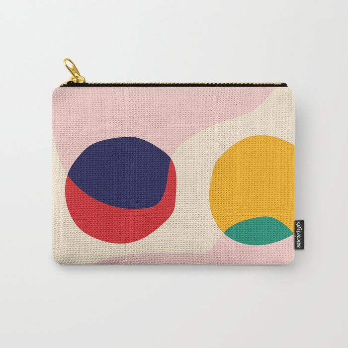 happy shapes Carry-All Pouch