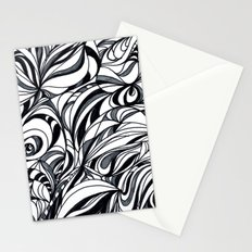 black and grey Stationery Cards