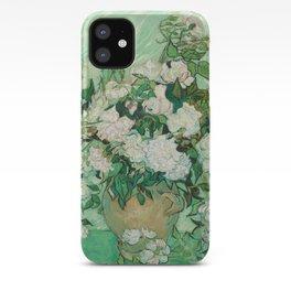 Roses, Vincent Van Gogh iPhone Case