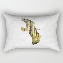 Soar Like An Eagle. Rectangular Pillow