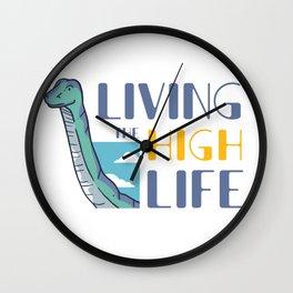 High life Dino Wall Clock