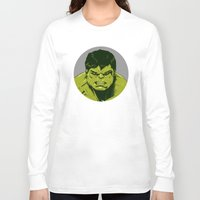 hulk Long Sleeve T-shirts featuring Hulk by Hazel