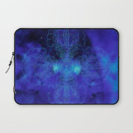Tibet. Blue Meditation Laptop Sleeve