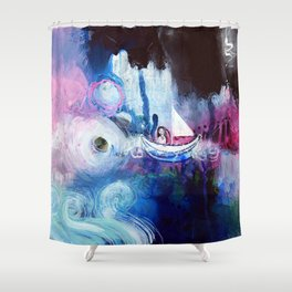 Embrace The Journey Shower Curtain