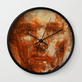 Oblivious People 5 Wall Clock