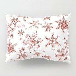 Snow Flakes 02 Pillow Sham