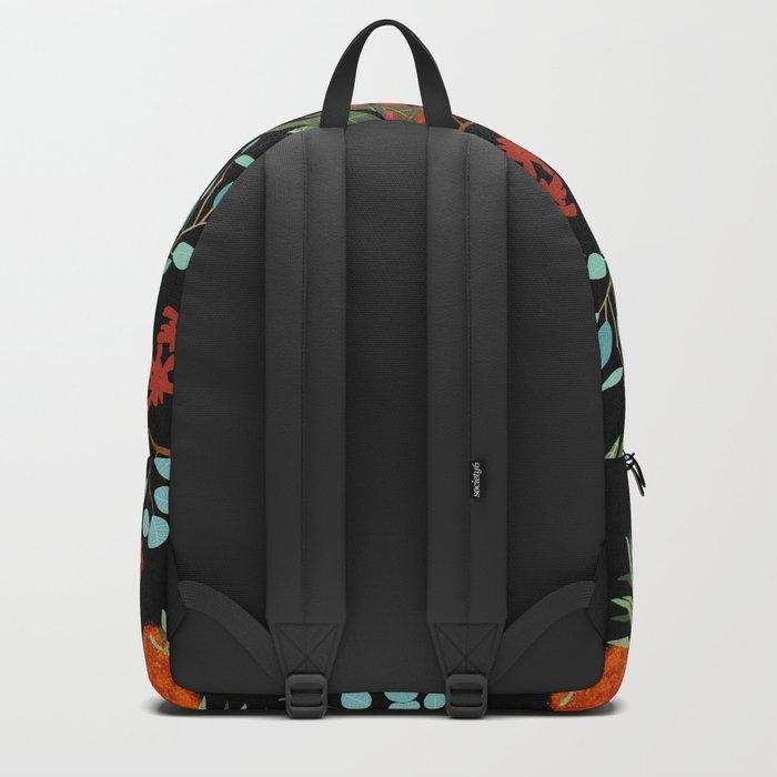 Australian Botanicals - Black Backpack