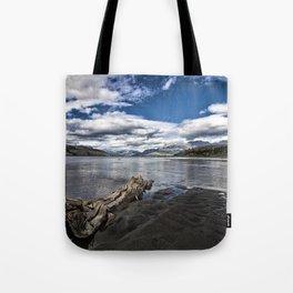 Lake Jasper view Tote Bag