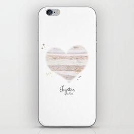 Jupiter in love iPhone Skin