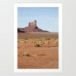 Monument Valley Camel butte Art Print