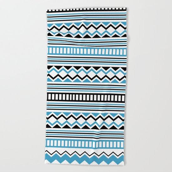 Tribal Scarf Beach Towel